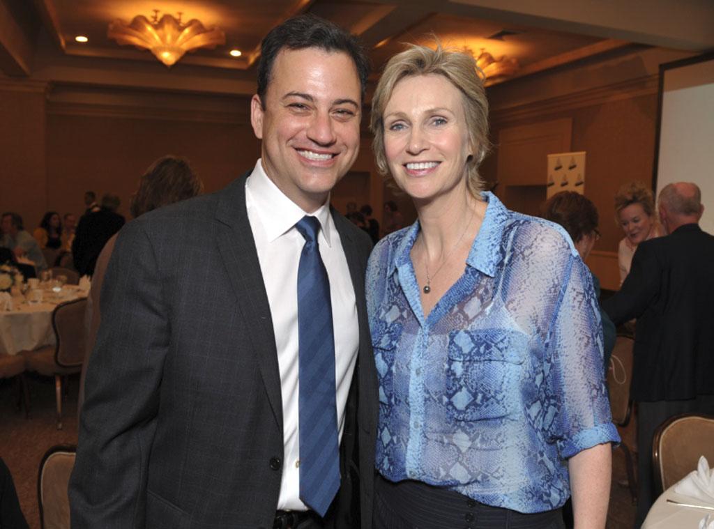 Jimmy Kimmel, Jane Lynch, Media Access Awards