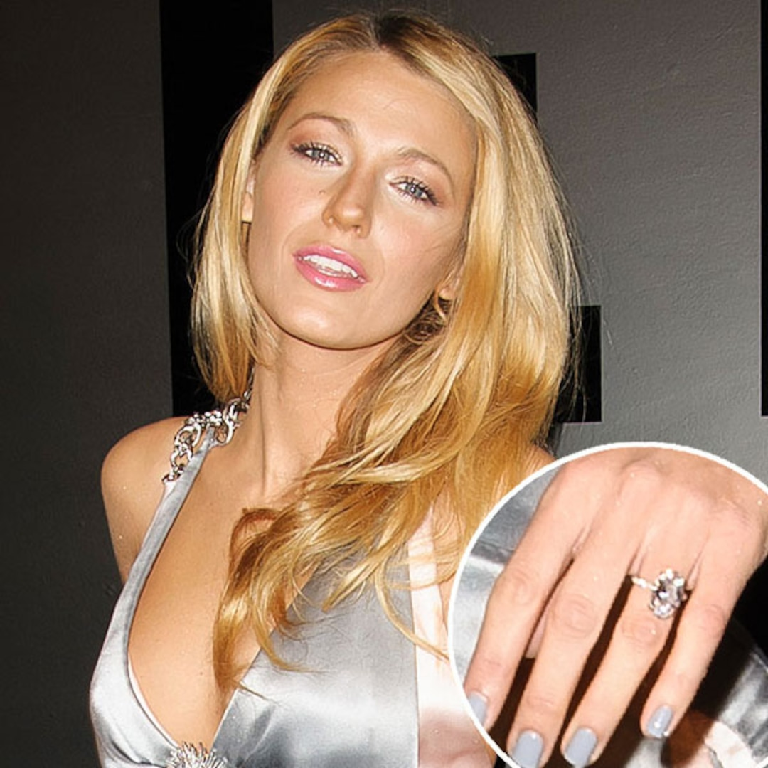 Blake Lively Shows Off Ring—and Ryan Reynolds—at First