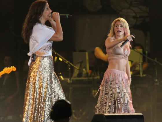 Ivete Sangalo, Shakira, Rock in Rio