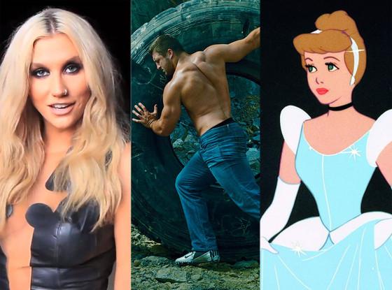 Kesha, Tim Tebow, Cinderella