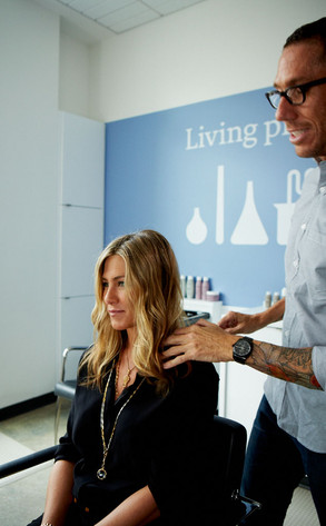 Jennifer Aniston, Living Proof Salon