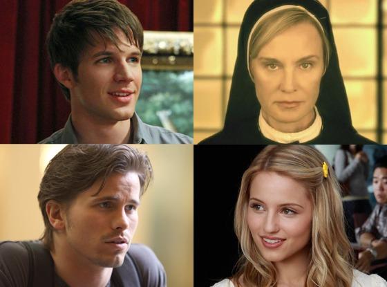 Dianna Agron, Glee Jason Ritter, Parenthood Jessica Lange in her nun habit, American Horror Story: Asylum Matt Lanter, 90210
