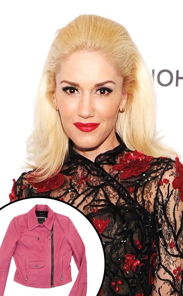 Kelly Wearstler Moto Jacket, Gwen Stefani