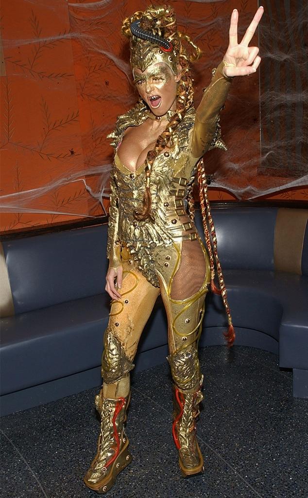 Heidii Klum, Halloween, 2003