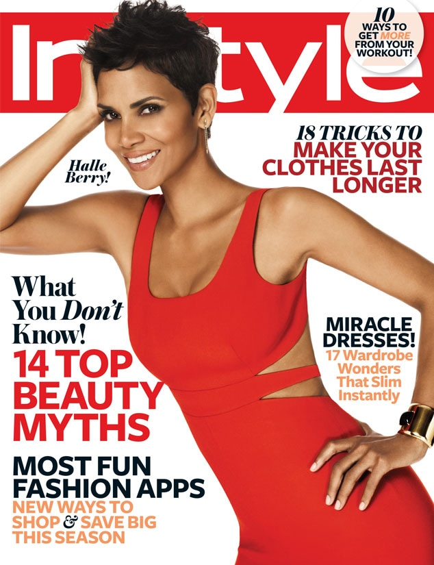 Halle Berry, InStyle cover