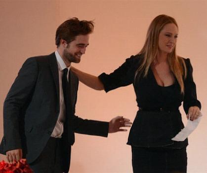 Robert Pattinson, Uma Thurman
