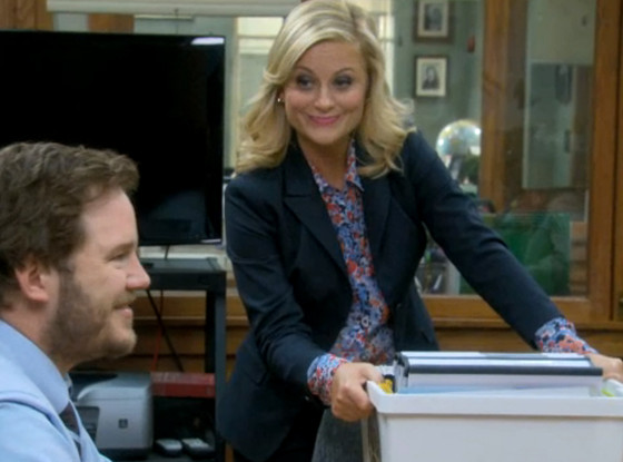Amy Poehler, Parks and Rec screen grab