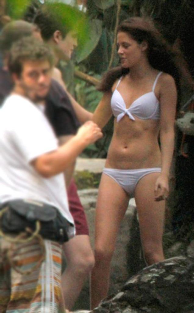 Robert Pattinson, Kristen Stewart, Breaking Dawn Set