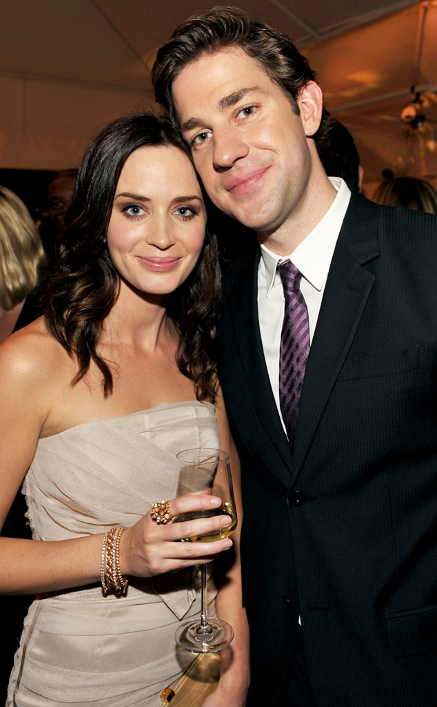 John Krasinski Emily Blunt Wedding.Emily Blunt John Krasinski From Celebrity Weddings In