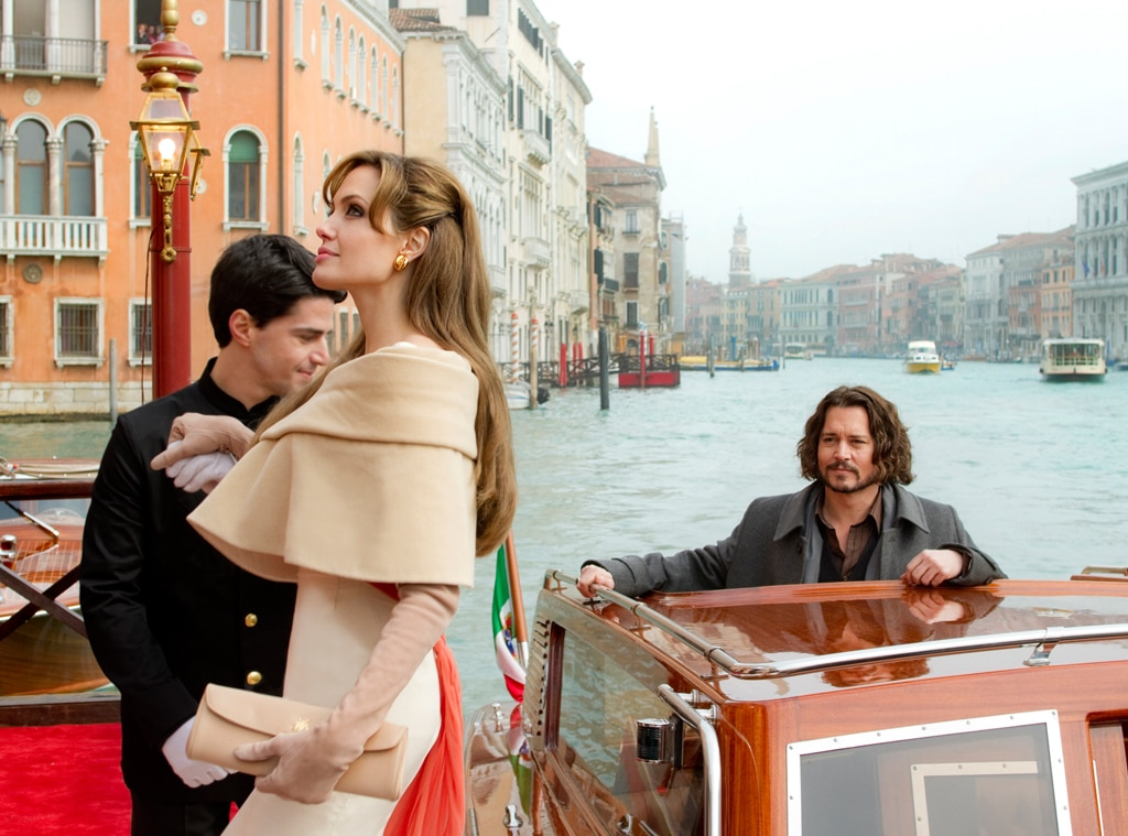 Johnny Depp, Angelina Jolie, The Tourist