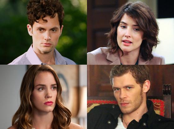 Cobie Smulders, How I Met Your Mother, Penn Badgley, Gossip Girl, Christa B. Allen, Revenge, Joseph Morgan, The Vampire Diaries