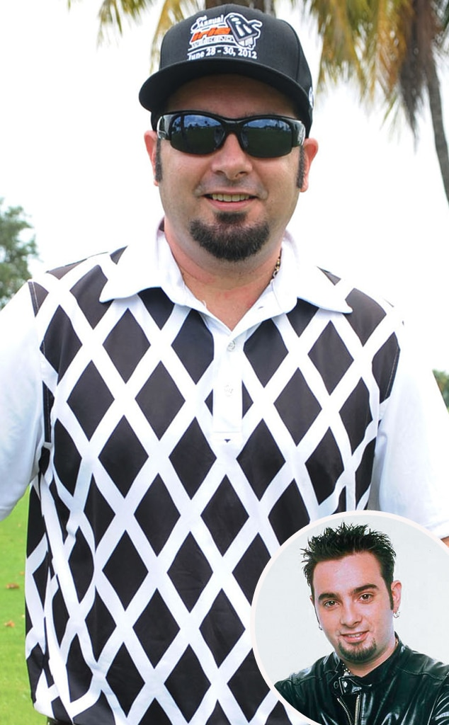 Chris Kirkpatrick, Then and Now