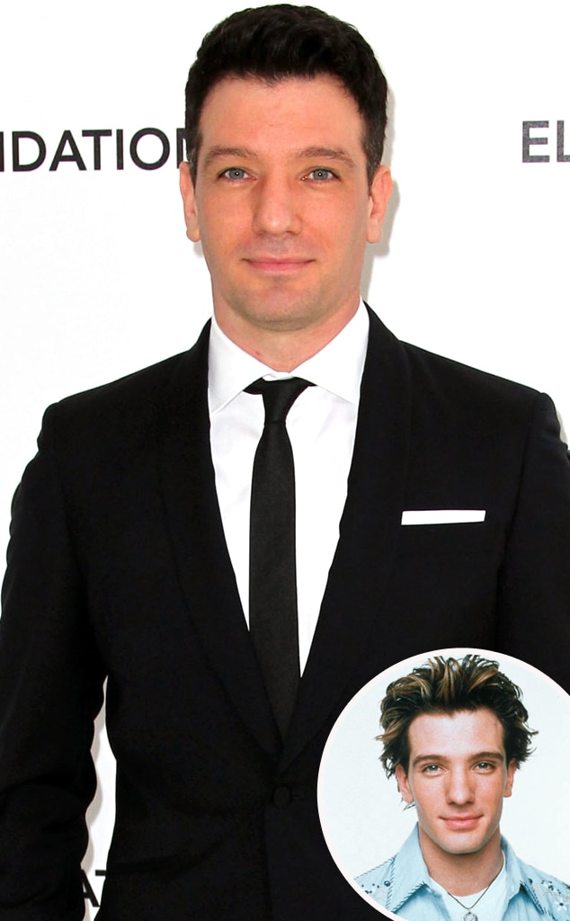 JC Chasez, Then and Now