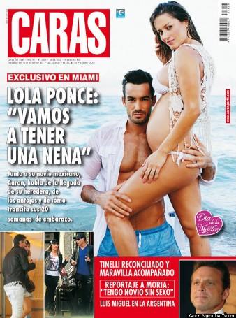 Lola Ponce, Aaron Diaz
