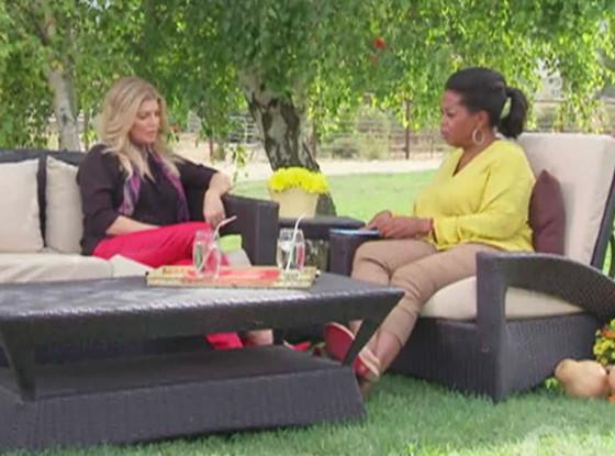 Fergie, Oprah Winfrey
