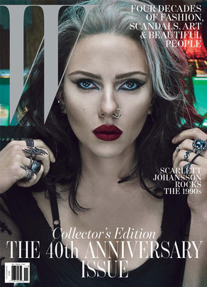 The W magazine, Scarlett Johansson