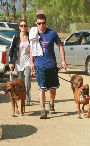 Justin Timberlake, Jessica Biel, Couple Workout