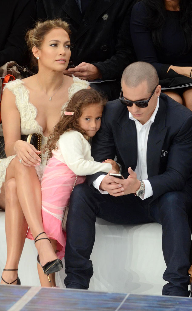 Jennifer Lopez, Casper Smart, Emme Anthony