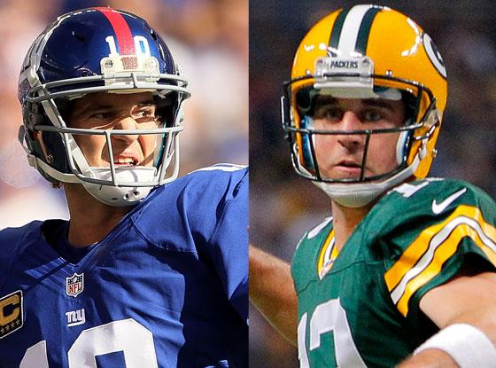 Eli Manning, Aaron Rodgers