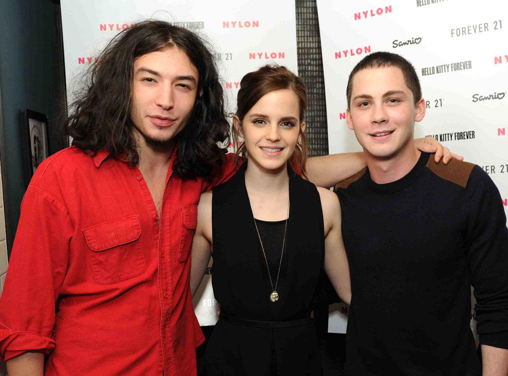 Emma Watson, Perks of Being a Wallflower Co-stars