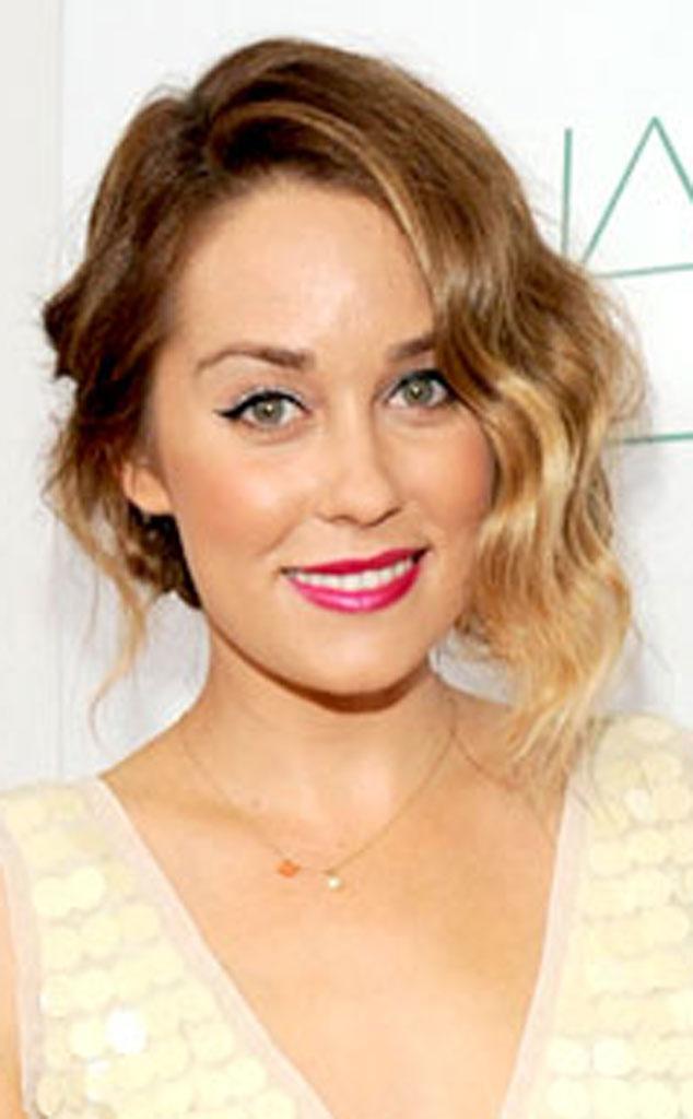 Lauren Conrad, Bridal Hair