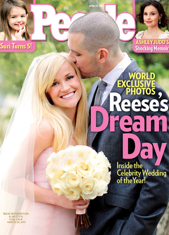 Reese Witherspoon, Jim Toth, People cover