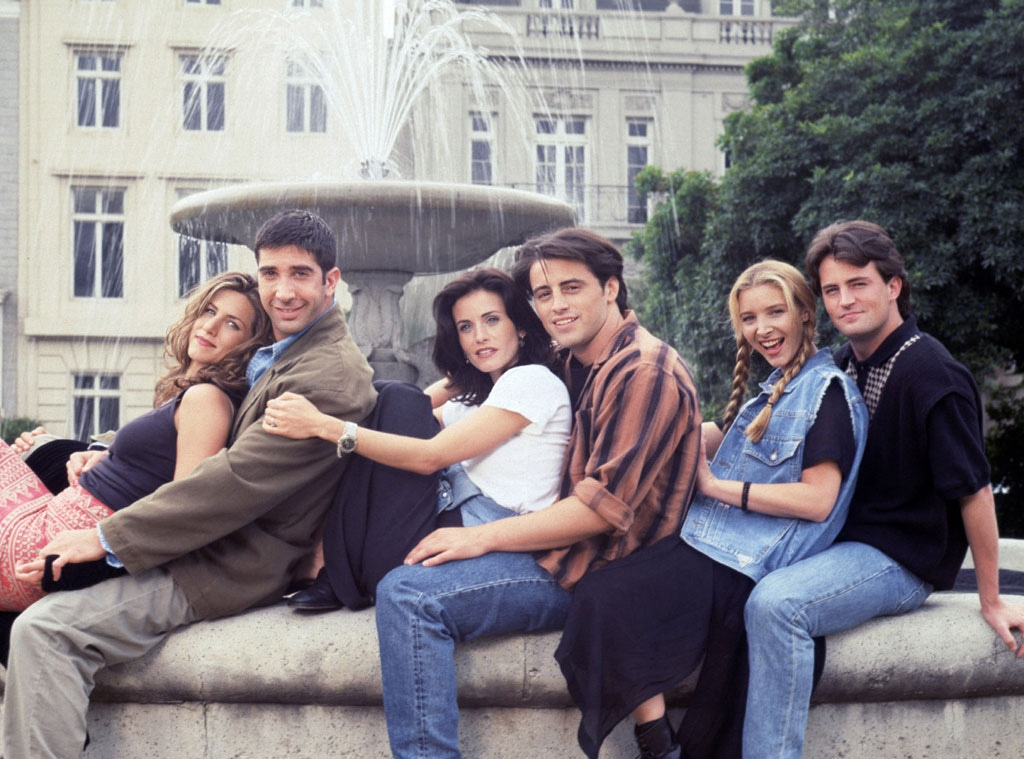 Friends, Jennifer Aniston, David Schwimmer, Courteney Cox, Matt LeBlanc, Lisa Kudrow, Matthew Perry