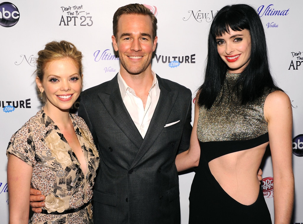 Dreama Walker, James Van Der Beek, Krysten Ritter