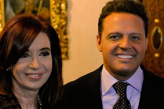 Luis Miguel, Cristina Kirchner