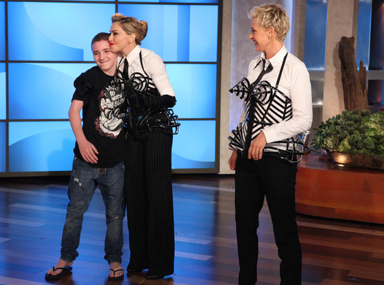 Ellen DeGeneres, Madonna, Rocco