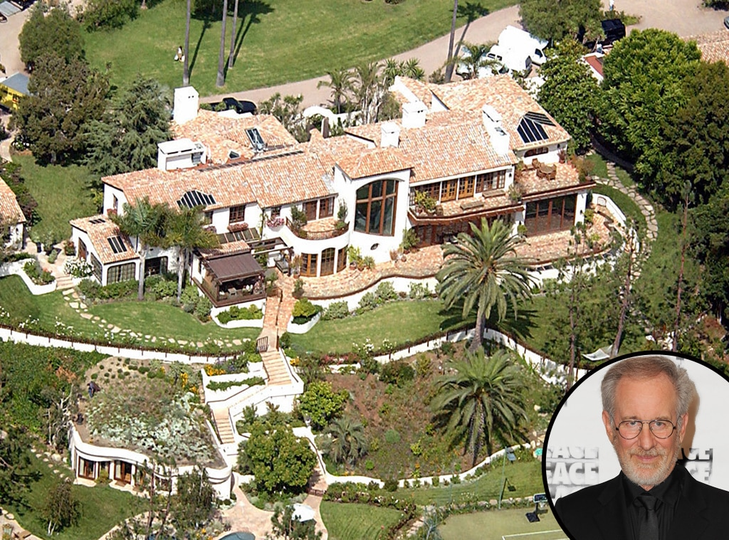 Steven spielberg from celebrity mega mansions e news for Stars houses in la