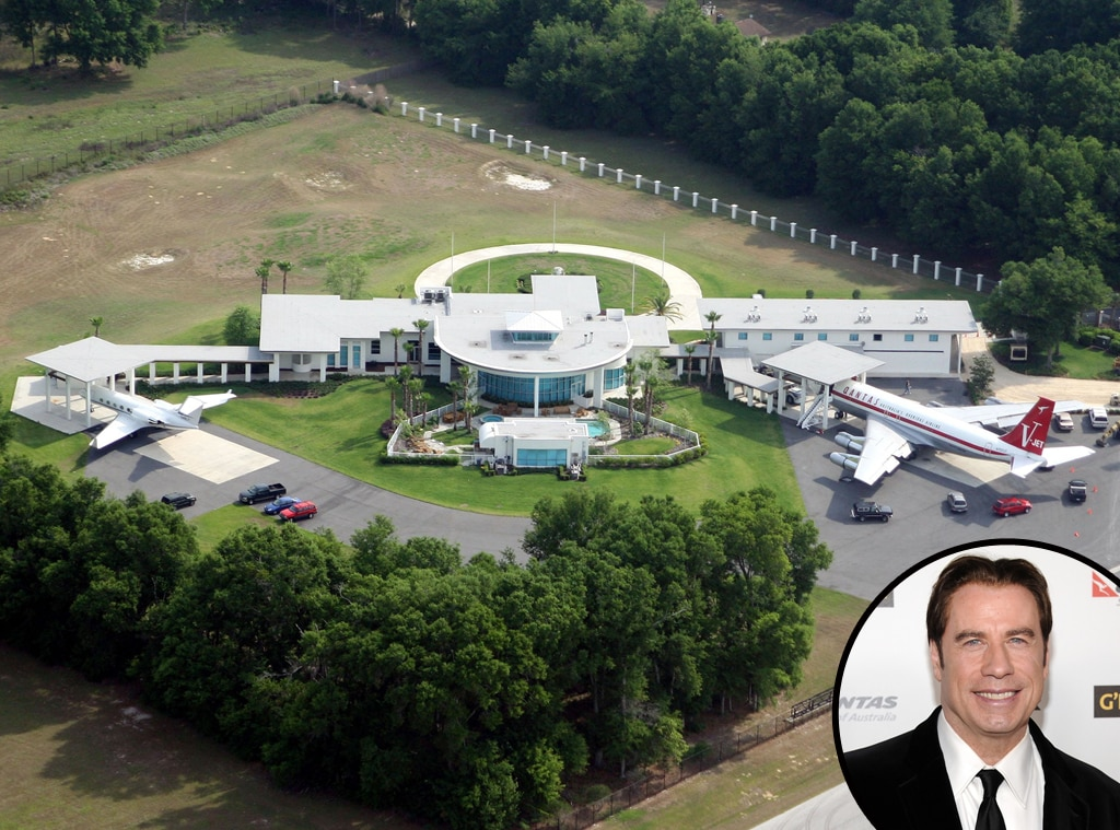 John Travolta, Ocala, Florida, Celeb Home