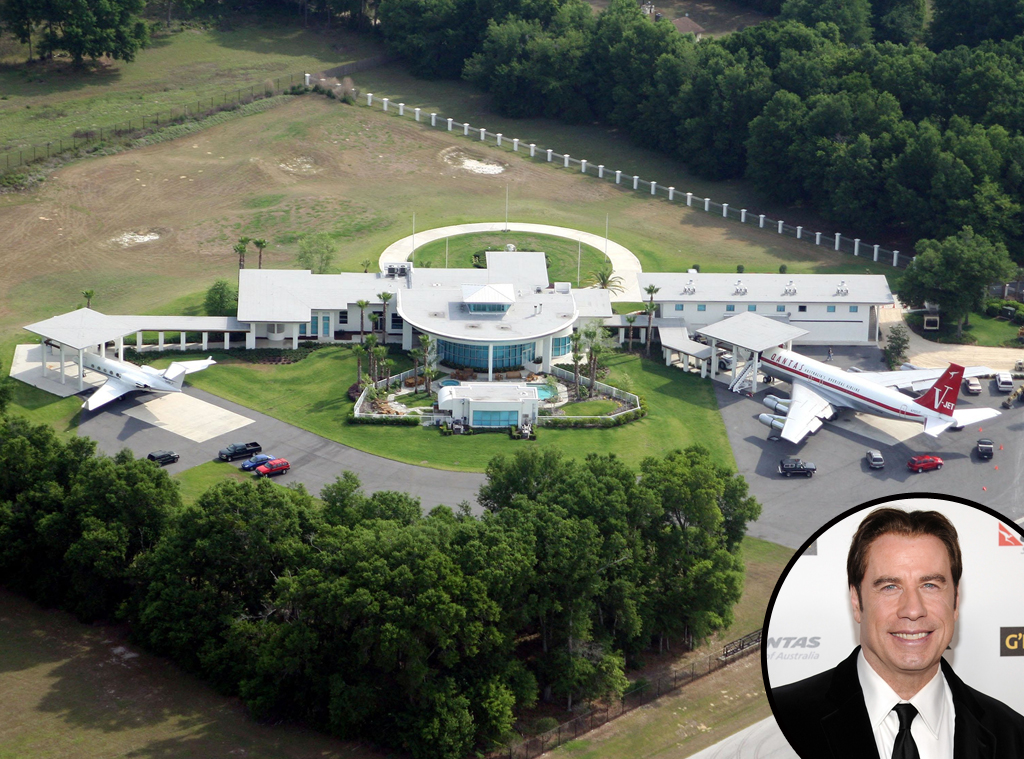 John Travolta, Ocala, Florida, Celeb Home