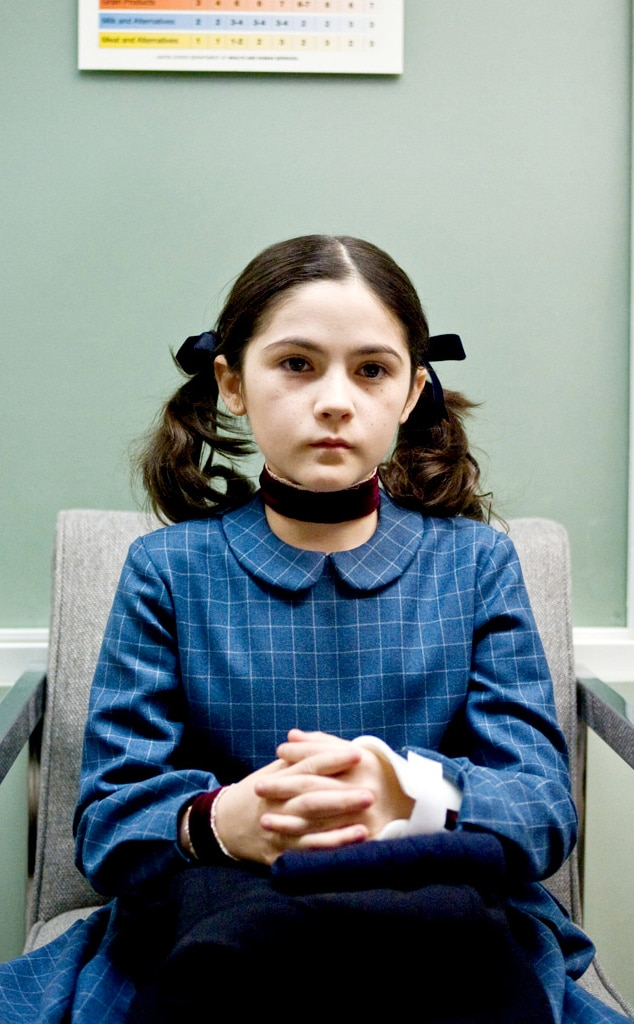 esther orphan from 13 scary kids from horror movies e news