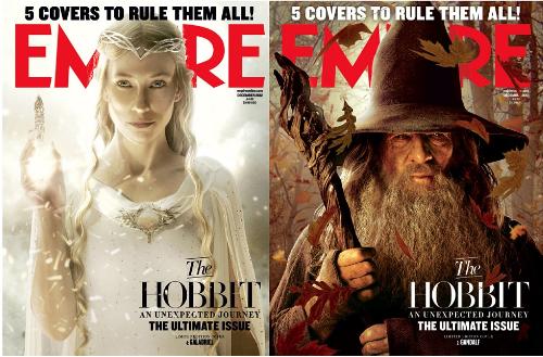 Cate Blanchett, el hobbit