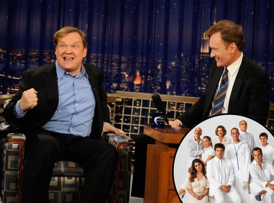 Conan O'Brien, Andy Richter, Arrested Development Cast