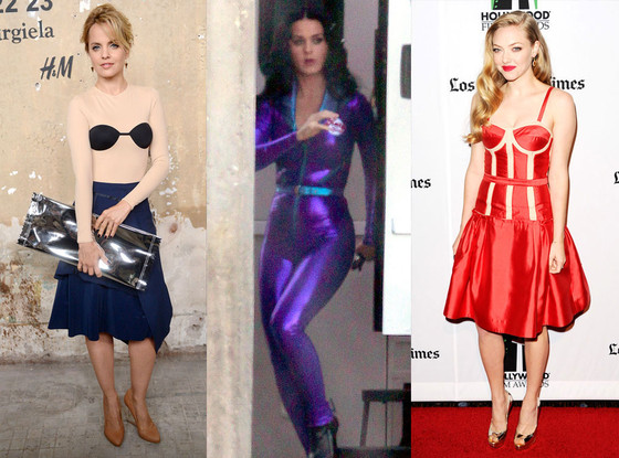 Mena Survari, Katy Perry, Amanda Seyfried