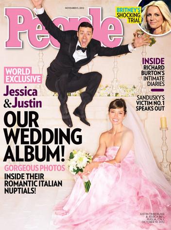 Justin Timberlake, Jessica Biel, People Magazine