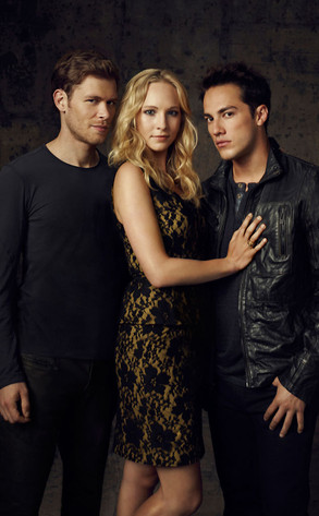 Joseph Morgan, Candice Accola, Michael Trevino