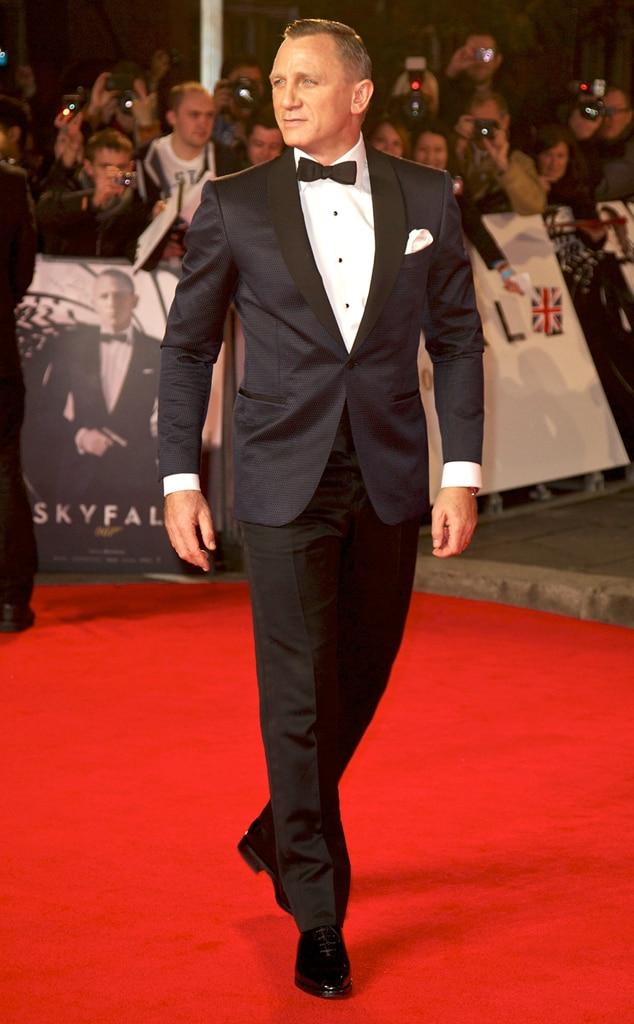 Daniel Craig, Skyfall, London Premiere