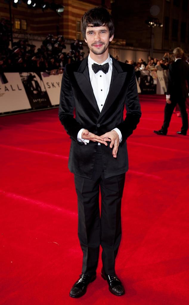 Ben Whishaw, Skyfall, London Premiere
