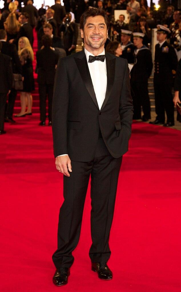 Javier Bardem, Skyfall, London Premiere