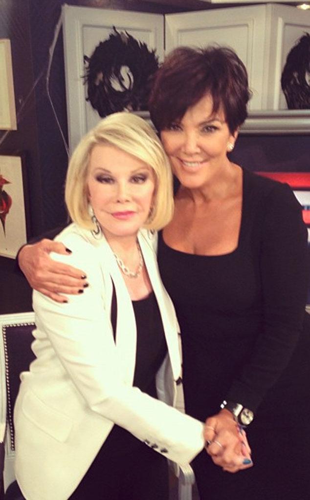 Kris Jenner, Joan Rivers, Twit Pic