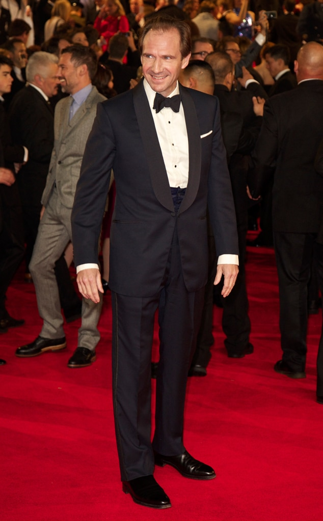 Ralph Fiennes, Skyfall, London Premiere
