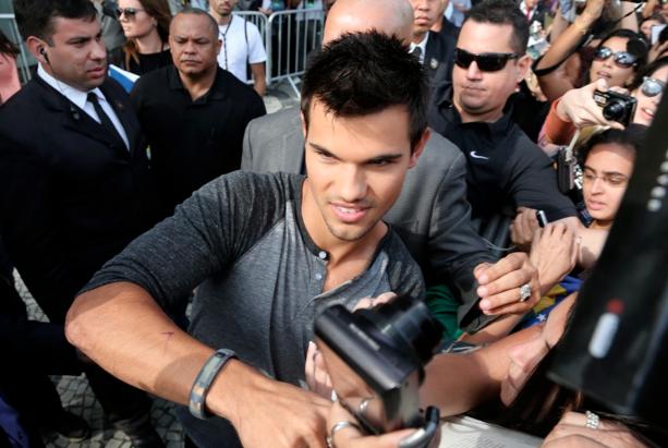 Taylor Lautner, Taylor Lautner no Brasil
