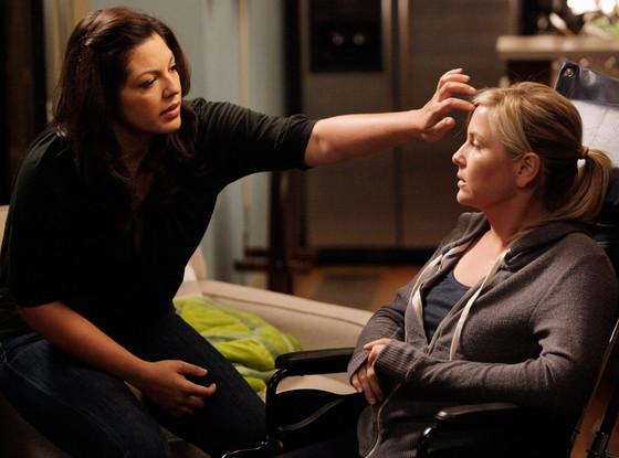 Sara Ramirez, Jessica Capshaw, Grey's Anatomy