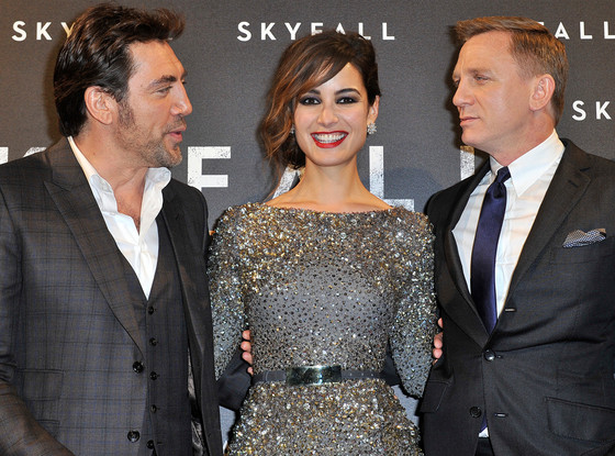 Javier Bardem, Berenice Marlohe, Daniel Craig, Skyfall Paris Premiere