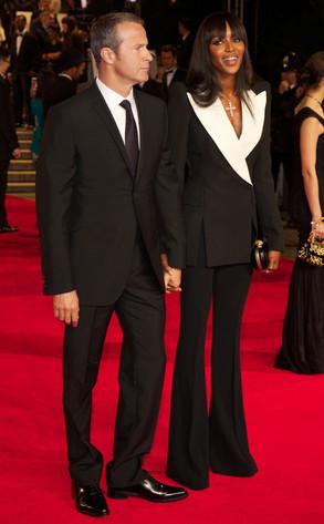 Vladislav Doronin, Naomi Campbell, Skyfall, London Premiere