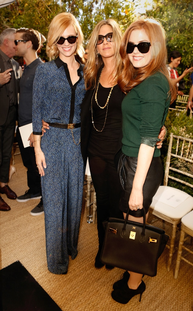 January Jones, Jennifer Aniston, Isla Fisher