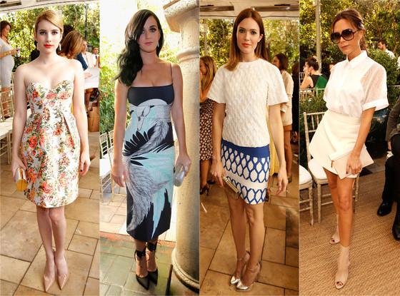 Vogue CFDA, Victoria Beckham, Mandy Moore, Katy Perry, Emma Roberts